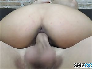 Penelope jizz penetrated and creamed on her ultra-cute face
