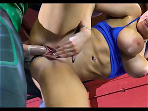 Justice League gonzo part 1 - Romi Rain and Xander