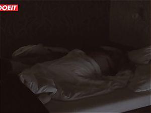 Russian stunner gets pro intercourse to help her sleep