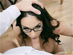 rectal slammed cougar educator Anissa Kate in class