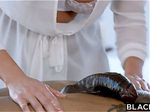 BLACKED Samantha Saint Cant resist big black cock and rimming