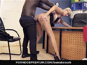 cabooses BUERO - light-haired mummy office affair pummel session
