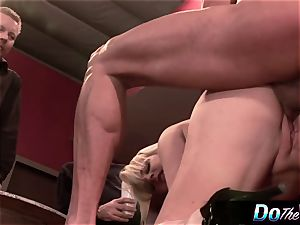 wife gets analled in front of husband