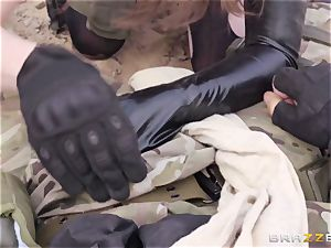 iron Gear Solid five ass fucking pornography parody with crazy brown-haired Casey Calvert