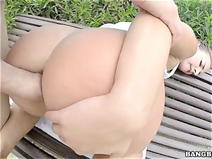 Amirah Adara pounded in her rectum