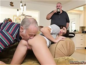 elder counterpart s sista plumb with crony s bro and gal gets fucked by youthfull female