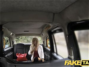 fake taxi skinny blondie with puny backside gets anal invasion lovemaking