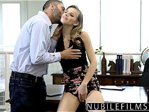 NubileFilms - Office superslut porked Till She pumps out