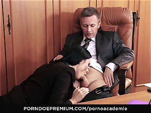 porno ACADEMIE - buttfuck fuck-fest for Ania Kinski in 3 way