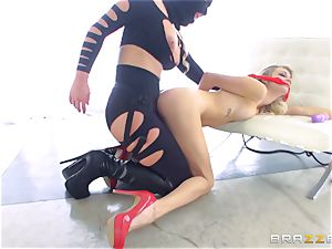 mistress Phoenix Marie gets her palms on Blake Eden