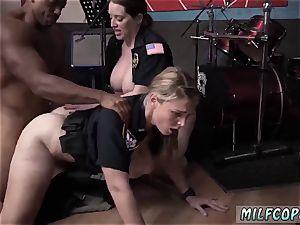 college uniform stockings moist video grips police fuckin a deadbeat parent.