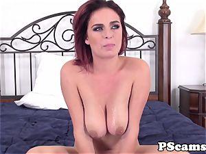 sandy-haired webcam stunner Ashlee Graham cockriding