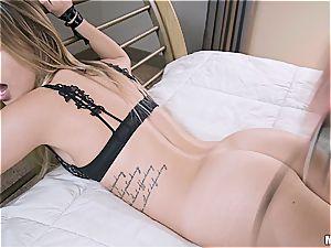 super-naughty restrain bondage session with a cheating fuckslut
