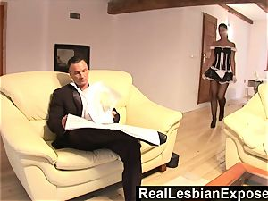 RealLesbianExposed Lonely Housewife screws