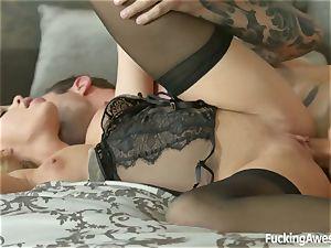 fantasies Come True! cool pornographic star Jessa Rhodes railing my face