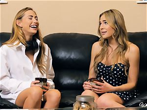 Carter Cruise and Blair Williams enjoy each others sizzling vags
