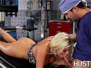 wonderful Britney Amber pulverized during doctors examination