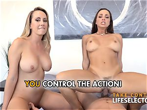 point of view romp adventures with Abigail Mac and Brett Rossi