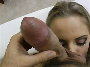 sexy light-haired Vanda passion poked in her anus