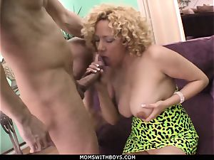 cougar Michelle stunner massive titted Get jism Showered