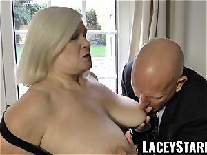 LACEYSTARR - nastiest grandma analled before pop-shot