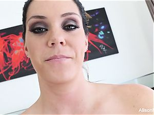 Interview with huge-chested beauty Alison Tyler