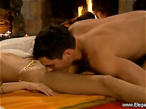 Exotic Indian duo probe love