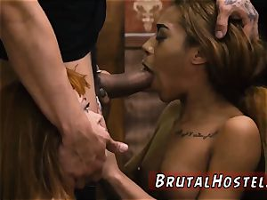 three dolls give fellatio uber-sexy youthful nymphs, Alexa Nova and Kendall woods, take a