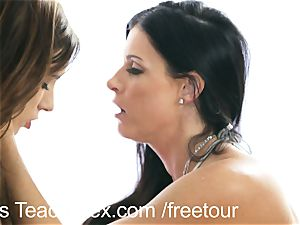 MomsTeachSex 3some with my super-fucking-hot step mommy