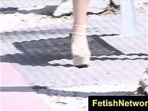 FetishNetwork Adrianna Lily in stocking