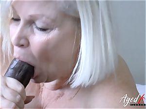 AgedLovE Lacey Starr gonzo bi-racial boink