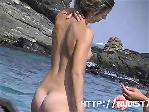 Some honies on a nudist beach
