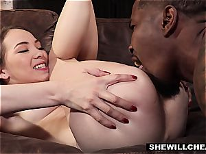hotwife wife gets ravaged by a monster black man-meat