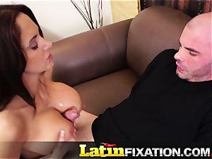 LatinFixation Ava Addams swallow sugary-sweet jizz