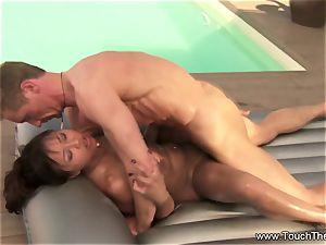 Nuru massage With The Nig hard-on