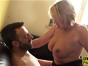 big-titted mature british marionettes before cuminmouth