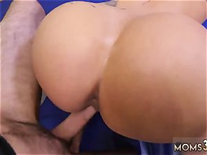 towheaded getting romped hd imperious milf Gets A internal cumshot After rectal sex